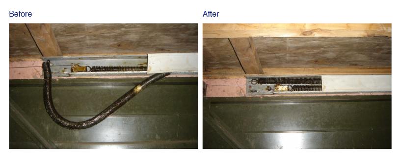 Mk3c Spring System Fast Garage Door Repairs